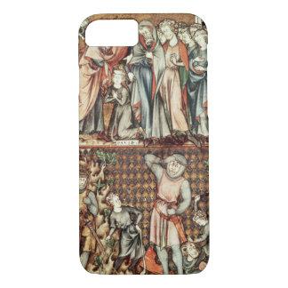 Coque iPhone 7 Lat 1023 f.7v David et Goliath avec Saul par Le Be