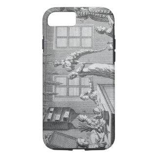 Coque iPhone 7 L'atelier d'une couturière, illustration de Th
