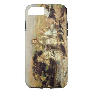 Coque iPhone 7 L'aventure, 1883 (huile sur la toile)