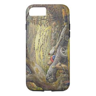 Coque iPhone 7 Le bois de construction Wain, c.1833-34 (la