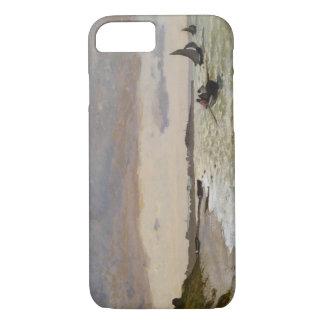 Coque iPhone 7 Le bord de la mer chez Sainte-Adresse, 1864