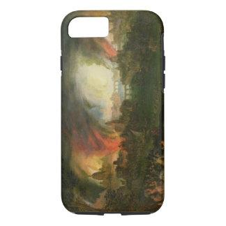 Coque iPhone 7 Le Burning de Troie (huile sur le cuivre)