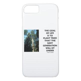 Coque iPhone 7 Le but de la vie est de planter des arbres que la
