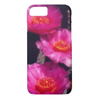 Coque iPhone 7 Le cactus de Beavertail fleurit 2