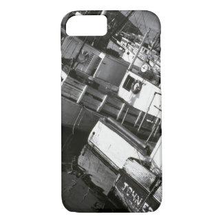 Coque iPhone 7 Le Canada, la Nouvelle-Écosse, Digby. Bateaux de