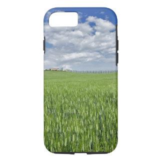 Coque iPhone 7 Le champ et la commande de blé ont rayé par le