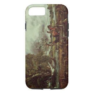 Coque iPhone 7 Le cheval de saut, c.1825 (huile sur la toile)