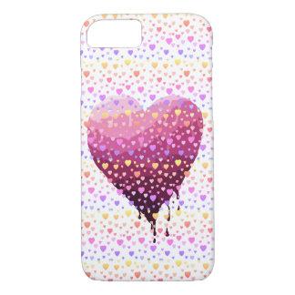 Coque iPhone 7 Le coeur de Valentine