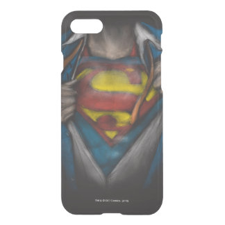 Coque iPhone 7 Le coffre de Superman | indiquent le croquis