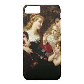 Coque iPhone 7 Le conteur, 1874 (huile sur la toile)