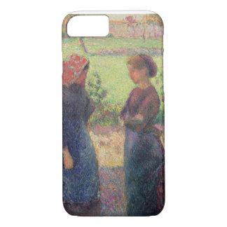 Coque iPhone 7 Le conversation, c.1892 (huile sur la toile)