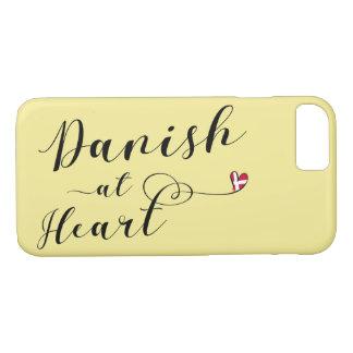 Coque iPhone 7 Le danois au cas de téléphone portable de coeur,