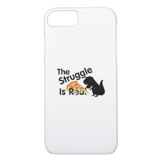 Coque iPhone 7 le dinosaure T Rex le Struggl est vraie pizza