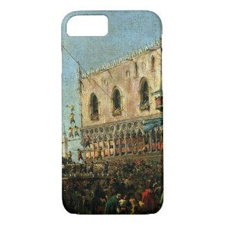 Coque iPhone 7 Le doge dans Shrove le festival de mardi sur le