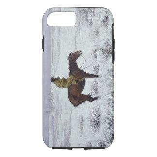 Coque iPhone 7 Le garçon de troupeau par Frederic Remington