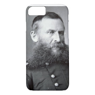 Coque iPhone 7 Le Général George Crook (photo de b/w)