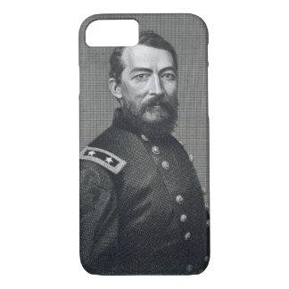 Coque iPhone 7 Le Général Philip Sheridan, gravé d'un photograp