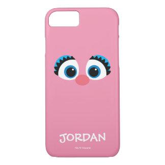 Coque iPhone 7 Le grand visage | d'Abby Cadabby ajoutent votre