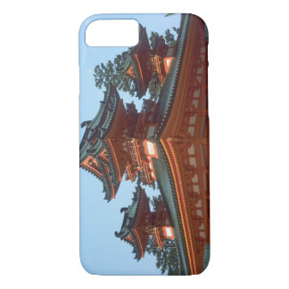 Coque iPhone 7 Le Japon, Kyoto, temple coloré de Heian Jingu,