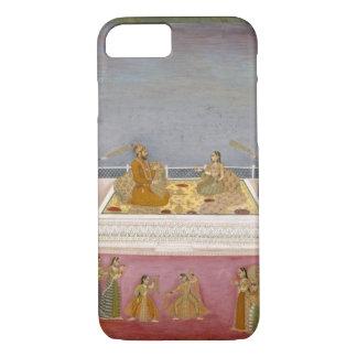 Coque iPhone 7 Le jeune empereur de Mughal Muhammad Shah à un