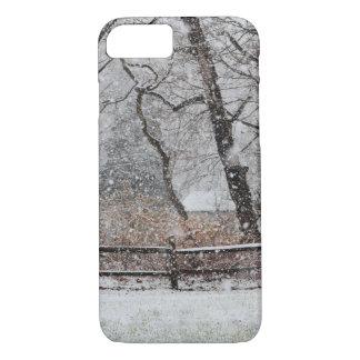 Coque iPhone 7 Le jour d'hiver de Milou