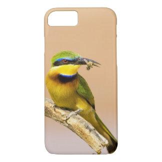 Coque iPhone 7 Le Kenya. Plan rapproché de petit oiseau