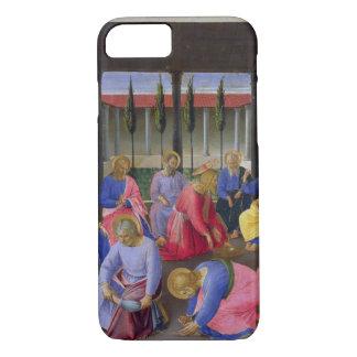 Coque iPhone 7 Le lavage des pieds, détail du panneau trois o