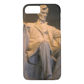 Coque iPhone 7 Le Lincoln Memorial dans DC de Washington