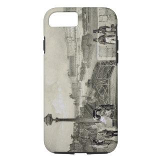 Coque iPhone 7 Le Louvre, gravé par Auguste Bry (gravure)