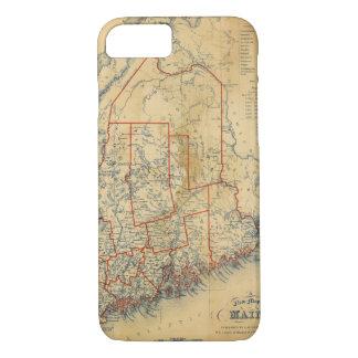 Coque iPhone 7 Le Maine 18