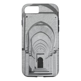 Coque iPhone 7 Le MAROC, Tizi, N, route de passage d'essai, ÉTAIN