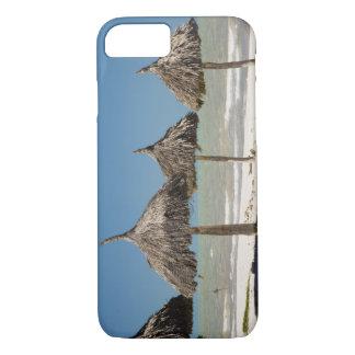 Coque iPhone 7 Le Mexique, péninsule du Yucatan, Progreso. Chaume