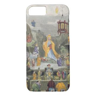 """Coque iPhone 7 Le morceau d'autel dans """"YUN le temple de Stzoo"""