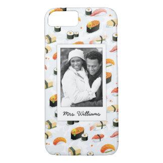 Coque iPhone 7 Le motif japonais | de sushi de la nourriture |