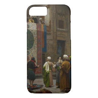 Coque iPhone 7 Le négociant de tapis, c.1887 (huile sur la toile)