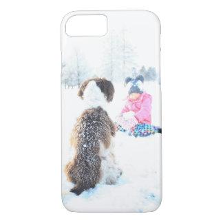 Coque iPhone 7 Le pays des merveilles d'hiver