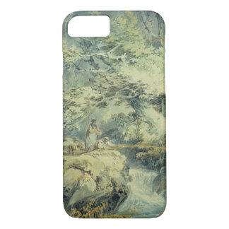 Coque iPhone 7 Le pêcheur à la ligne, 1794 (la semaine au-dessus