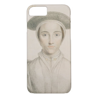 Coque iPhone 7 Le portrait de la Reine Anne de Cleves (1515-57)