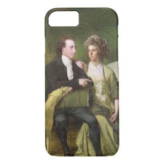 Coque iPhone 7 Le Rev. et la Mme Thomas Gisborne, de la loge de