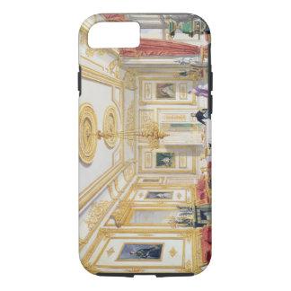 Coque iPhone 7 Le salon blanc au château de Windsor (couleur l
