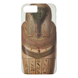 Coque iPhone 7 Le sarcophage de Psamtik I (664-610 AVANT JÉSUS