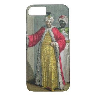 Coque iPhone 7 Le seigneur grand, dans son sérail avec Kislar AG