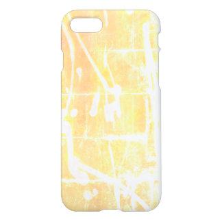 Coque iPhone 7 le soleil de cas de téléphone de style de graffiti