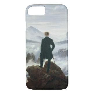 Coque iPhone 7 Le vagabond au-dessus de la mer du brouillard,