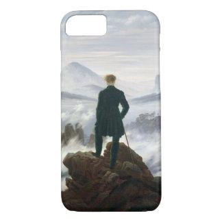 Coque iPhone 7 Le vagabond au-dessus de la mer du brouillard