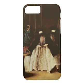 Coque iPhone 7 Le vendeur de parfum (huile sur la toile) (voir