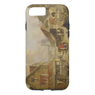 Coque iPhone 7 Le vieux Fishmarket, Norwich, 1825 (huile sur le