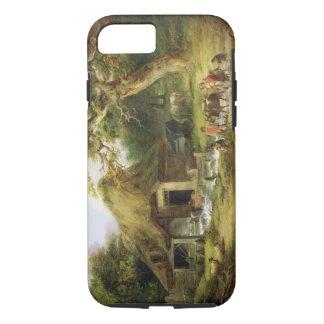 Coque iPhone 7 Le vieux moulin à eau, 1790 (huile sur la toile)