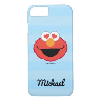 Coque iPhone 7 Le visage de sourire | d'Elmo ajoutent votre nom