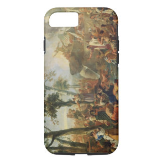 Coque iPhone 7 L'eau de dessin de Moïse de la roche (huile sur la